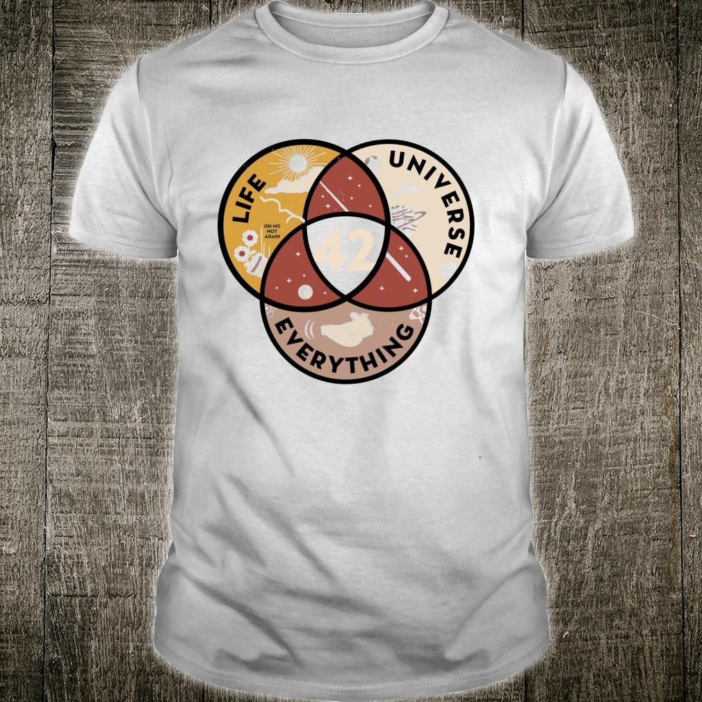42 answer to life universe and everything Shirt