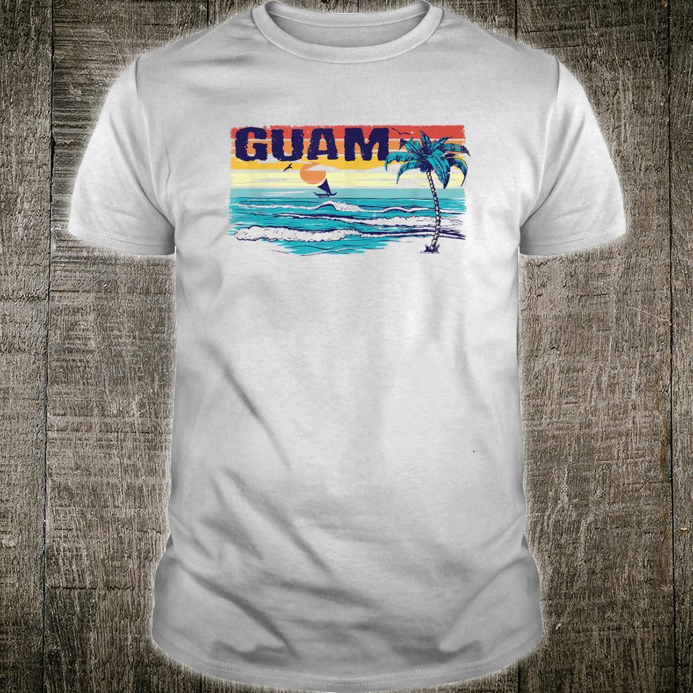 671 Vintage Tropical Guam Shirt