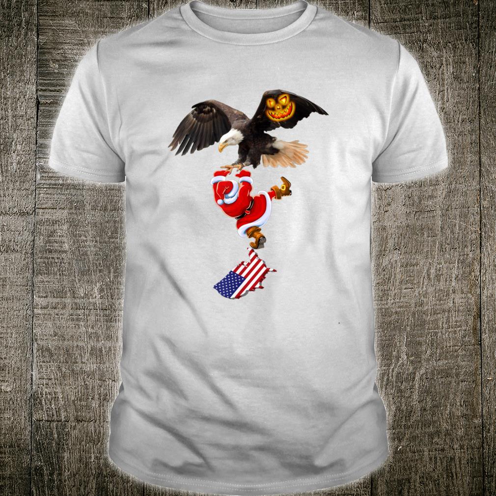 AmericaFreedomSanta ClausWe love Christmas&happy New Year Shirt