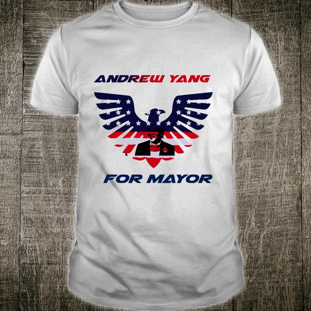 Andrew yang for mayor Shirt