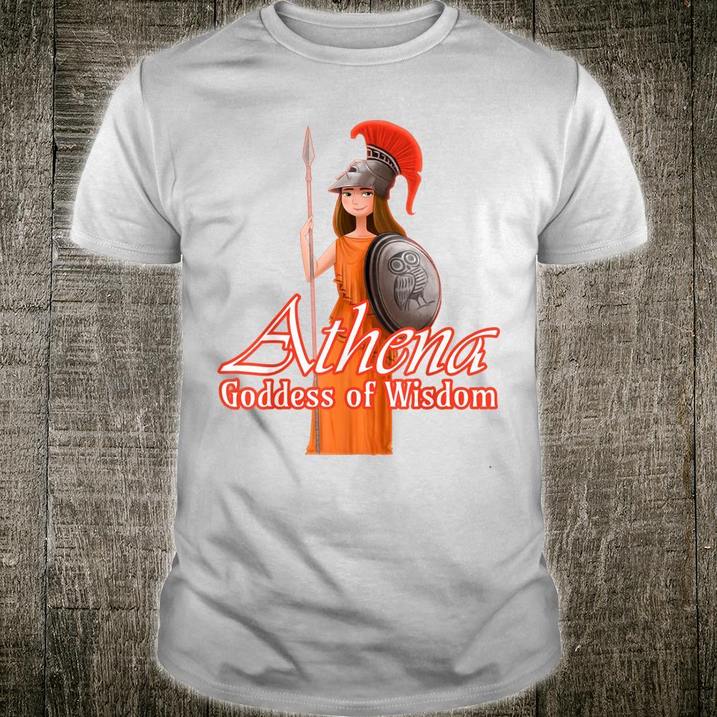 Athena Goddess Of Wisdom Shirt