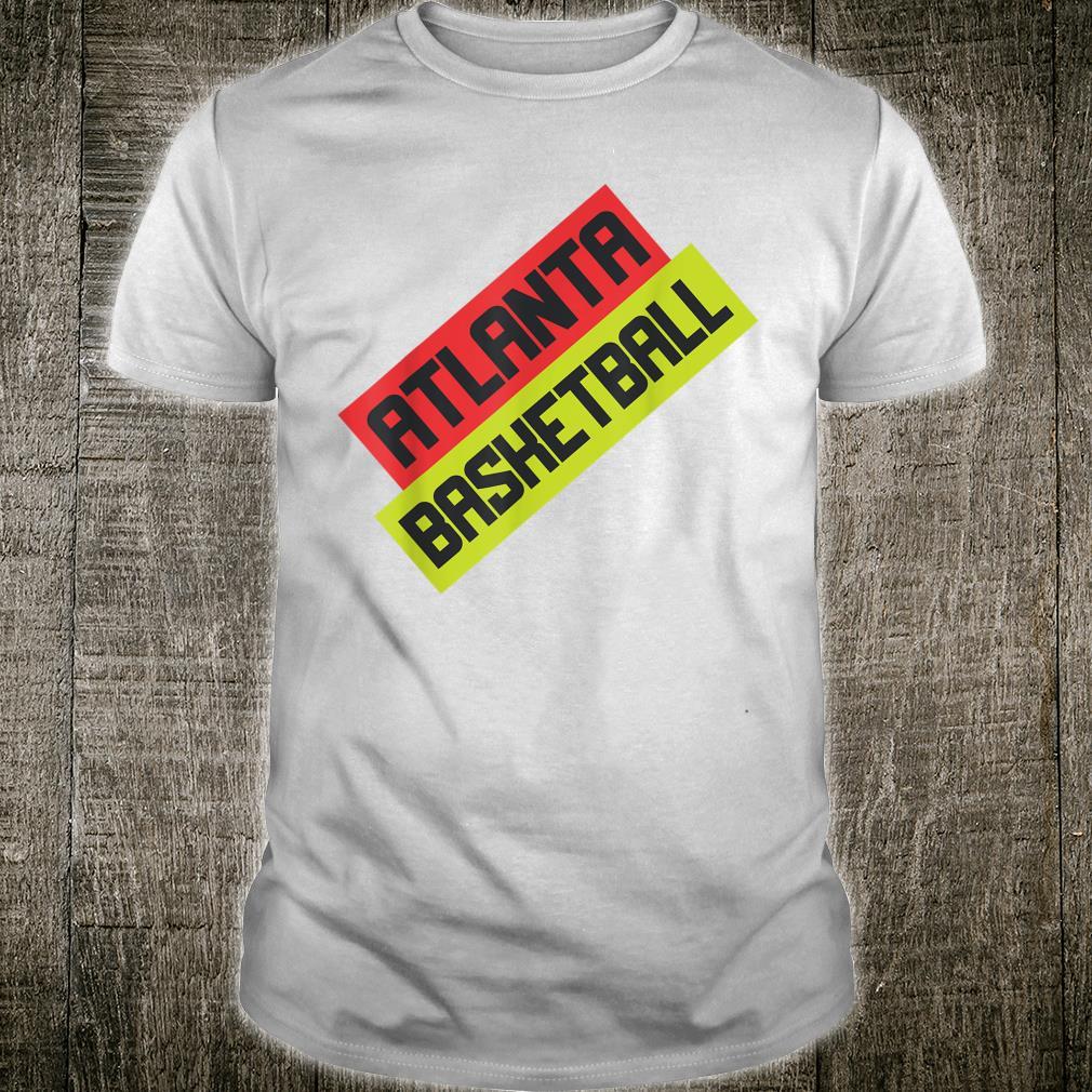 Atlanta Basketball Jersey Style Fan ATL Shirt