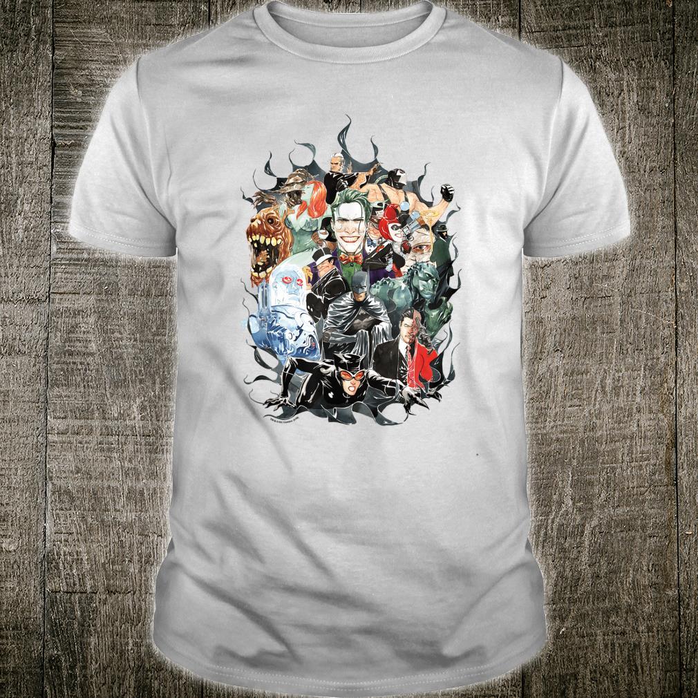 Batman Cape of Villians Shirt