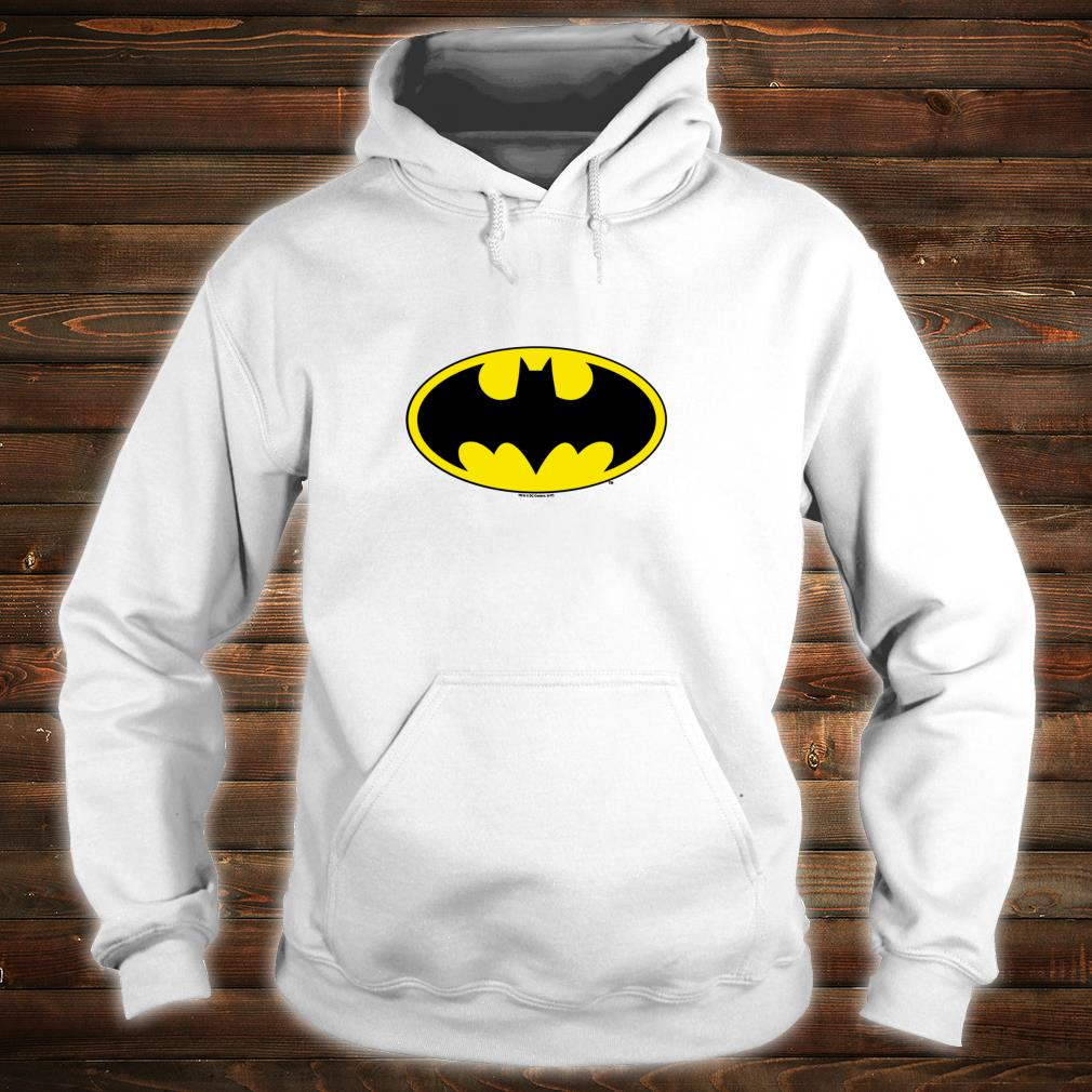 Batman Classic Bat Logo Shirt hoodie