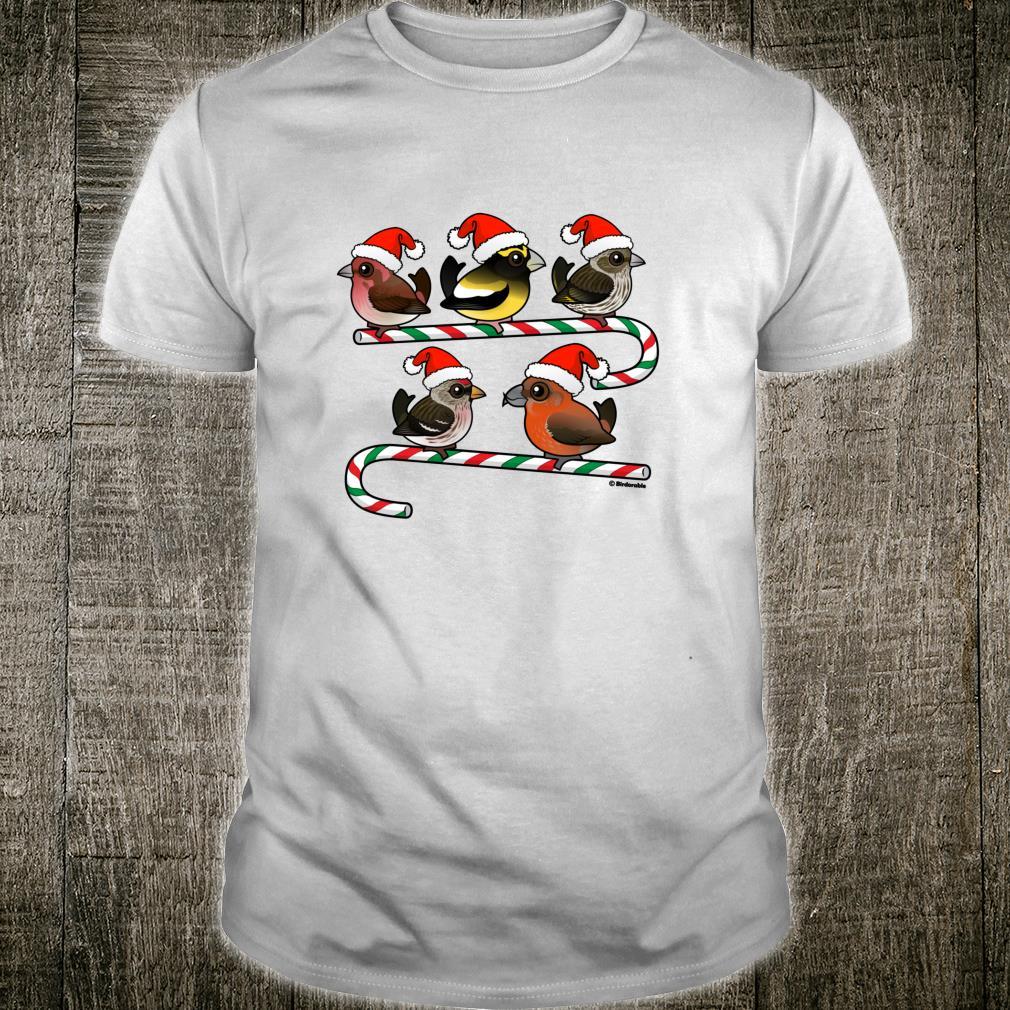 Birdorable Santa Finches Shirt