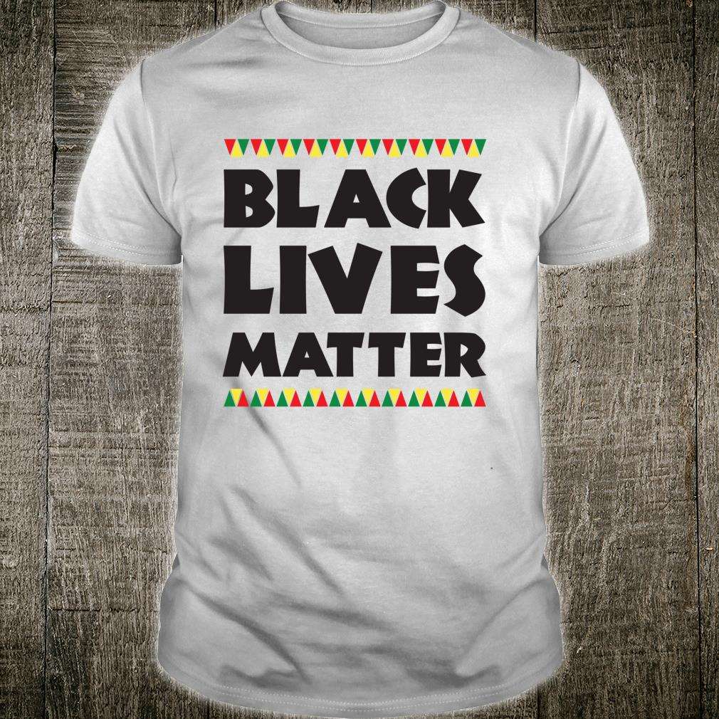 Black Lives Matter Protest Slogan Civil Rights Shirt