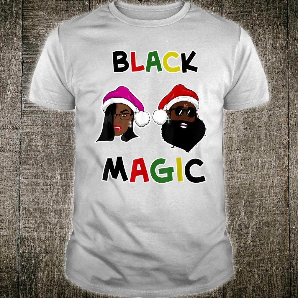 Black Magic Christmas Cultural Shirt