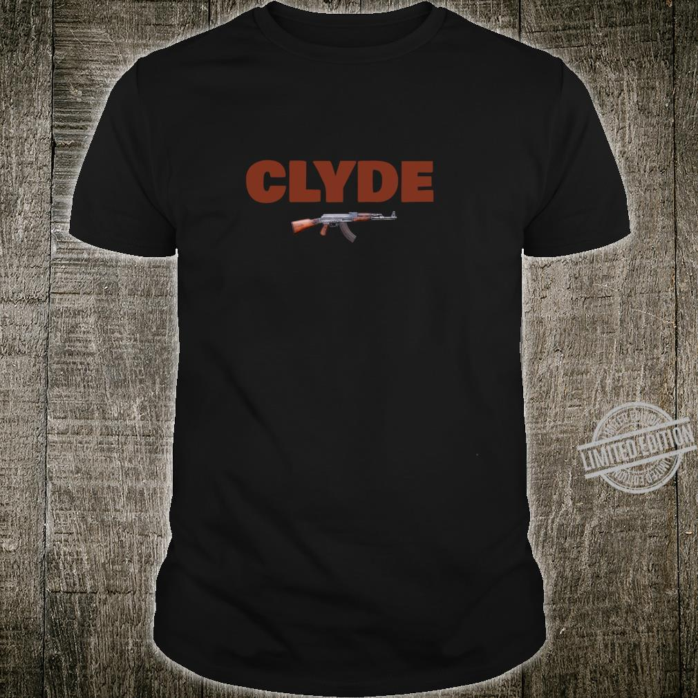 Bonnie & Clyde for Him & Her Matching Couples Shirt
