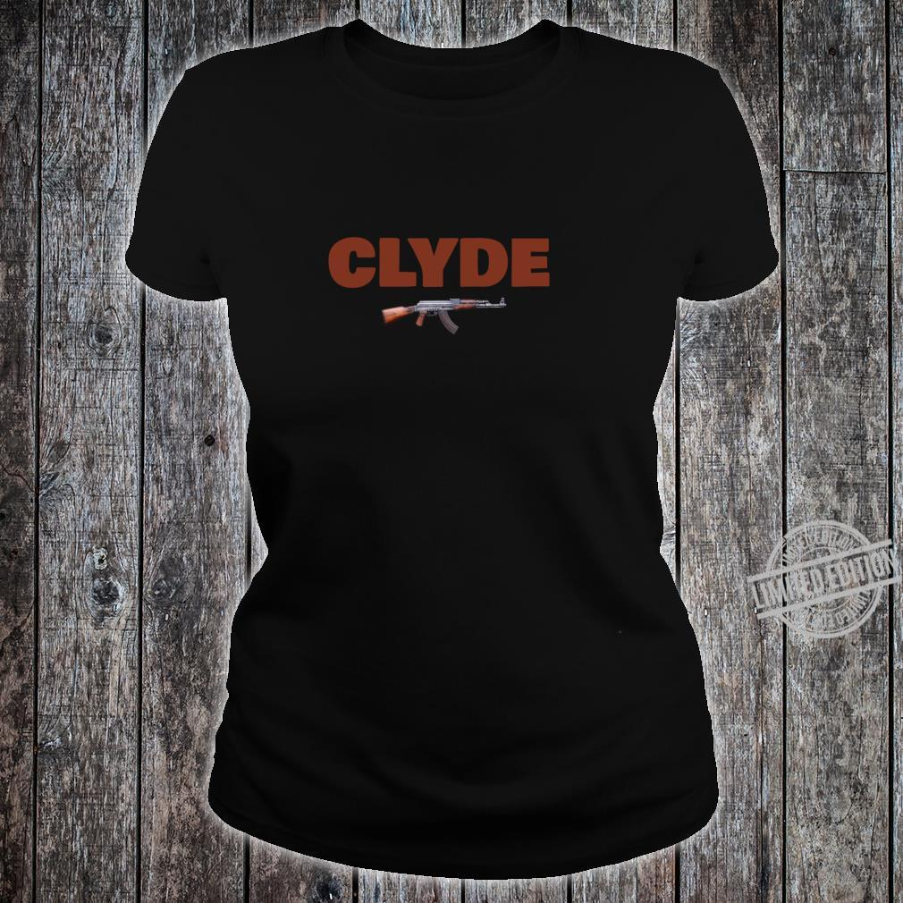 Bonnie & Clyde for Him & Her Matching Couples Shirt ladies tee