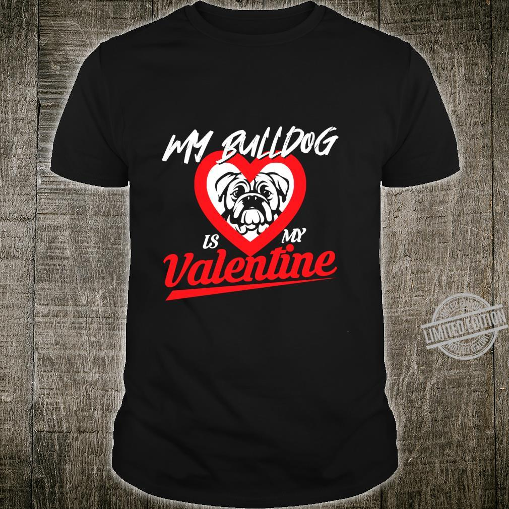 Bulldog Bulldog Owner Valentines Day Shirt