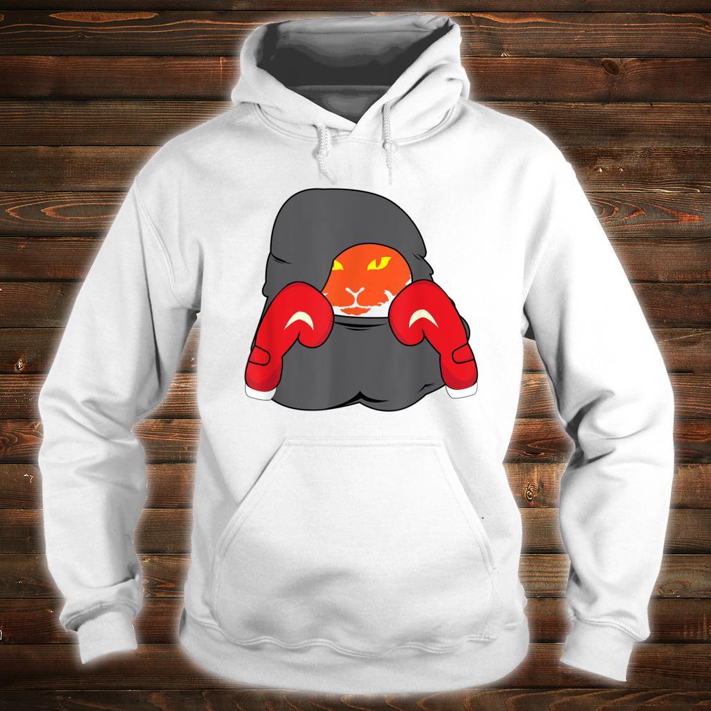 Cat Boxing Creative Animals Cool Boxer Shirt hoodie
