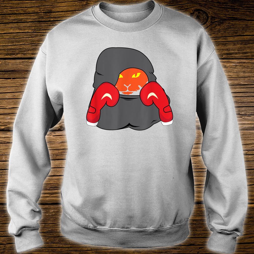 Cat Boxing Creative Animals Cool Boxer Shirt sweater