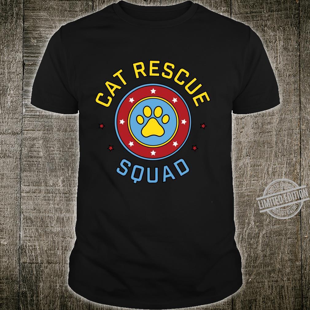 Cat Rescue Squad Foster Adopt TNR Animal Rescuer Shirt