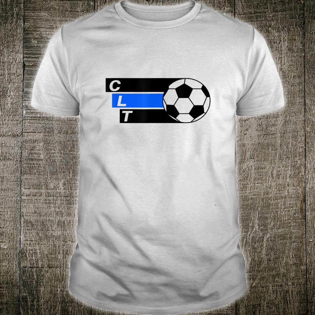 Charlotte Football Soccer CLT Shirt