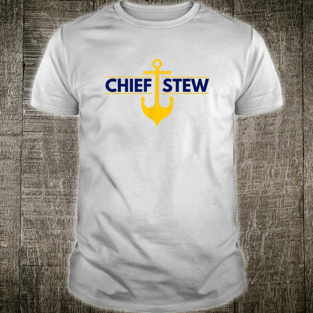 Chief Stew AKA Chief Stewardess Yachtie Shirt