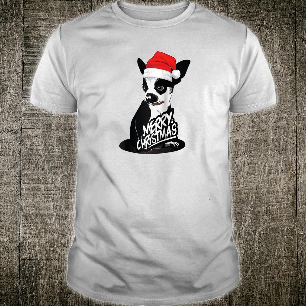 Chihuahua Dog Christmas Puppy and Animals Shirt