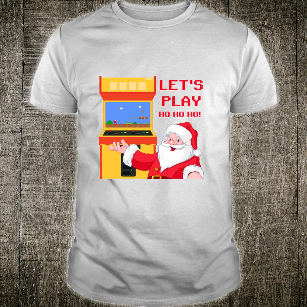 Christmas Santa Claus Gaming Shirt