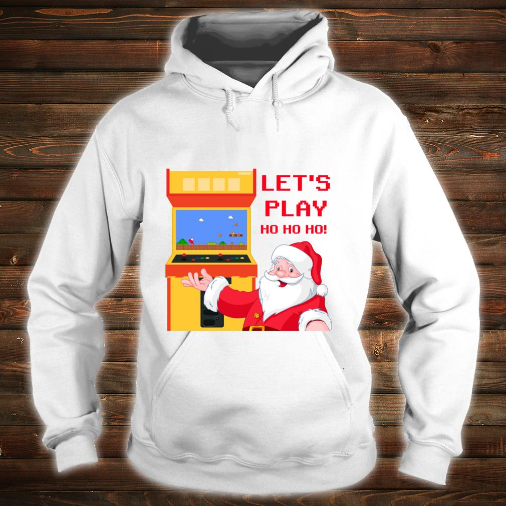 Christmas Santa Claus Gaming Shirt hoodie