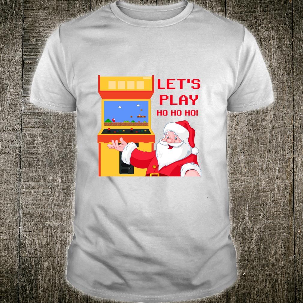Christmas Santa Claus Gaming Shirt