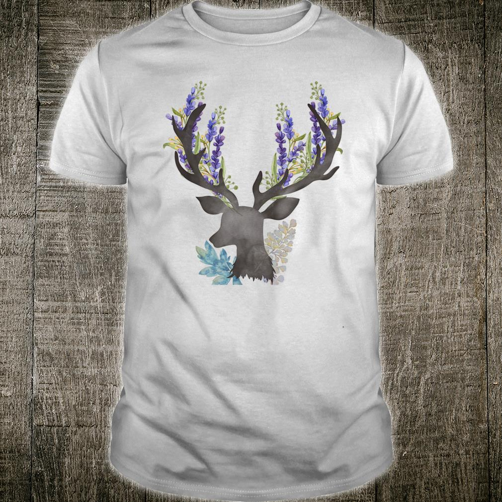 Cute Christmas Deer Hunting Bow Hunting & Girl Shirt