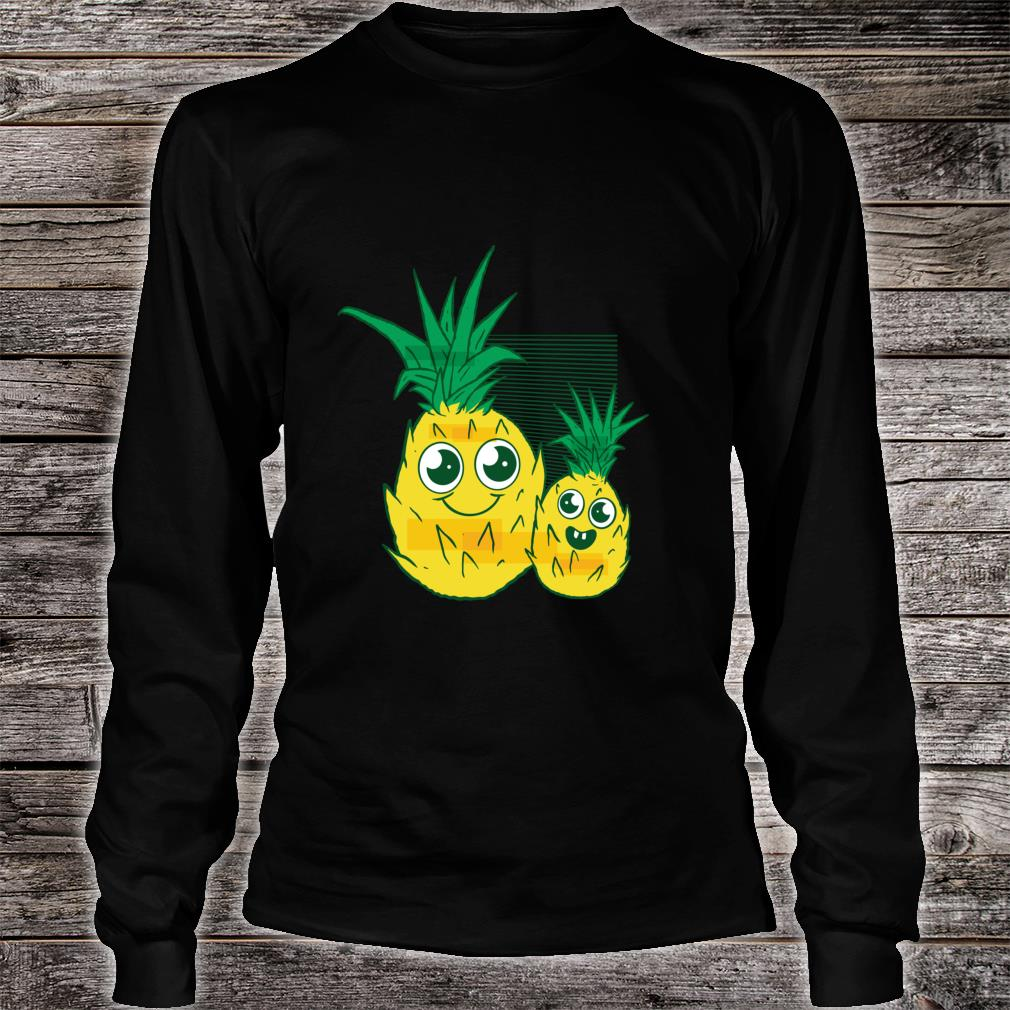 Cute Pineapple for mom and me Shirt long sleeved