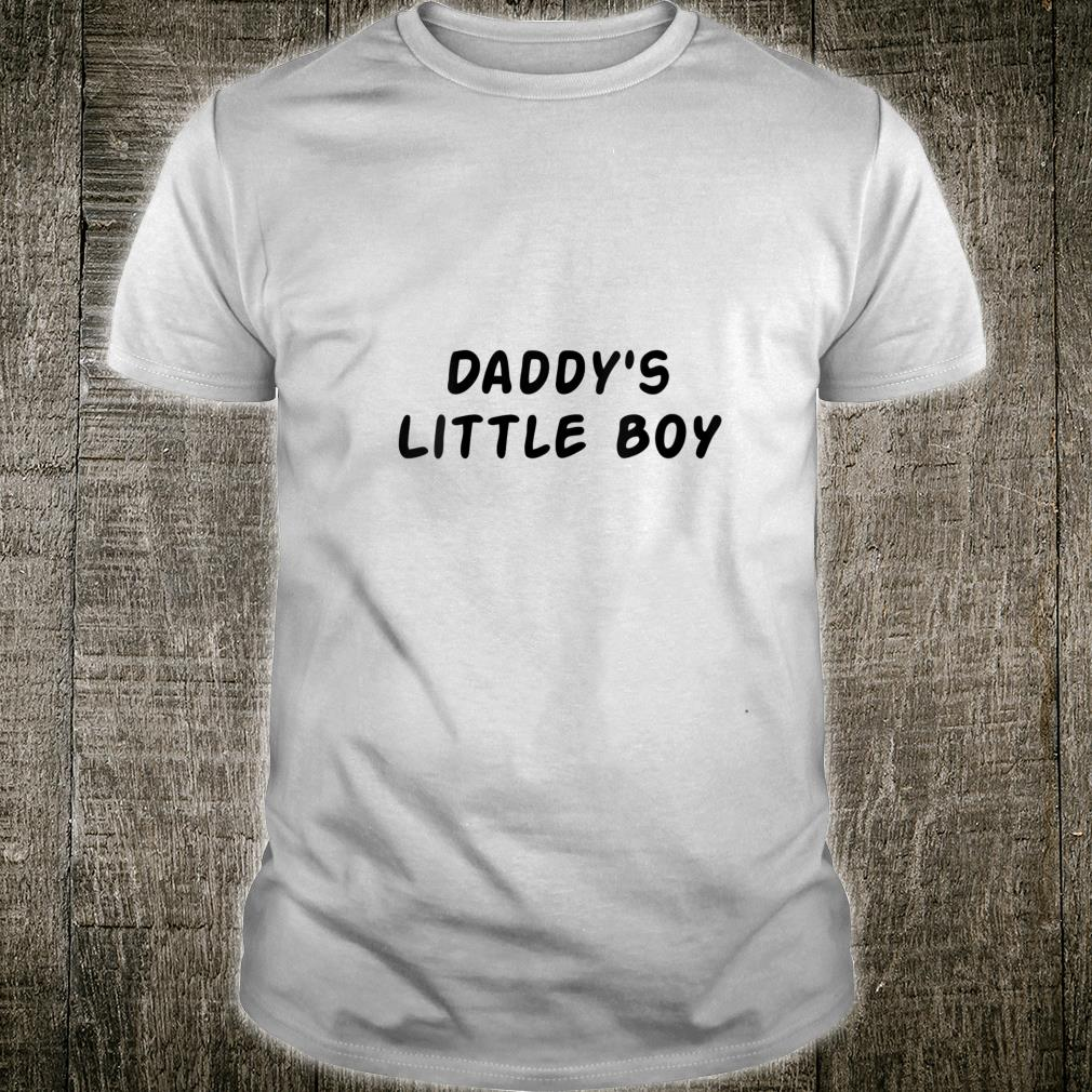 Daddy's Little Boy Naughty BDSM or DDLB Shirt