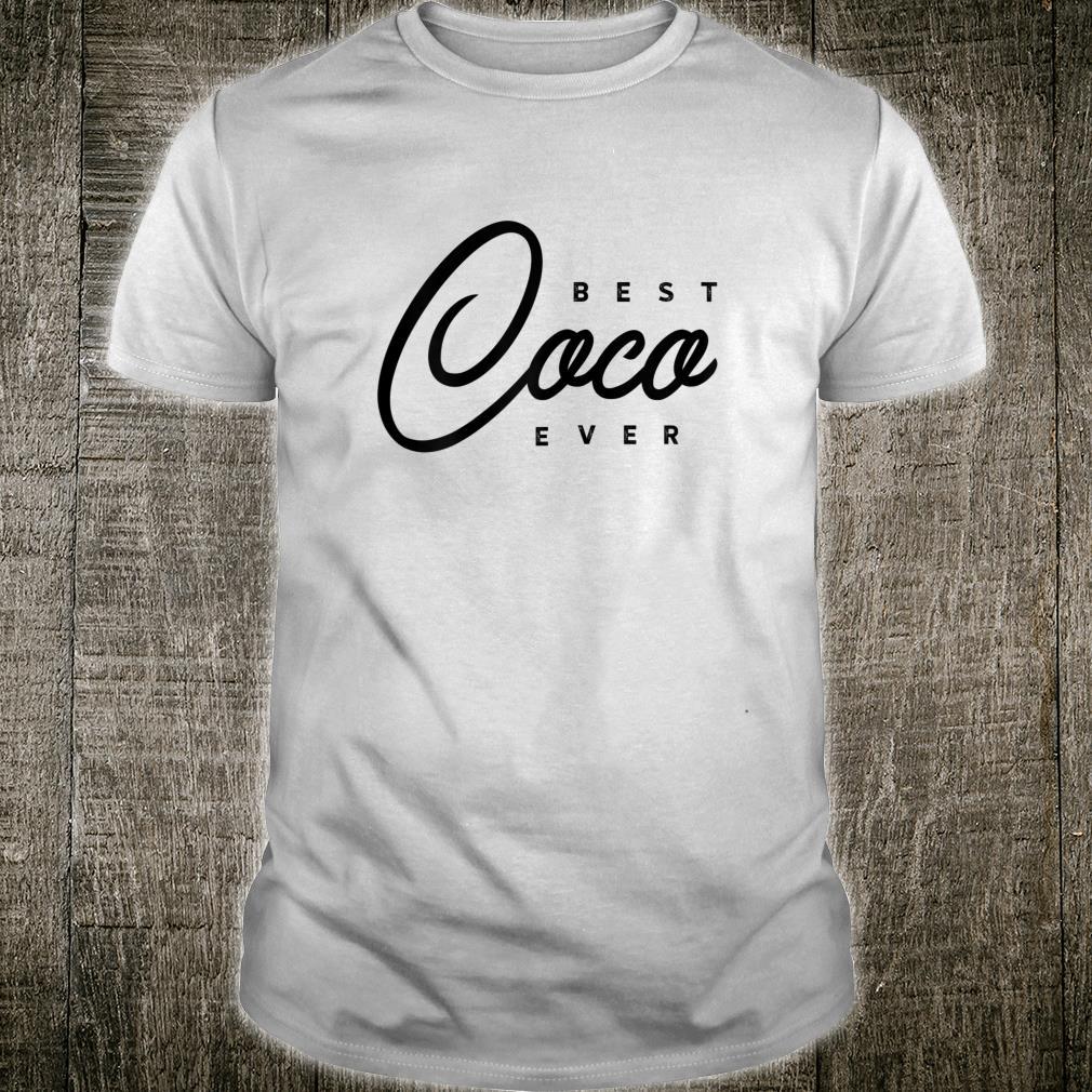 Damen Bestes CocoGeschenk aller Zeiten Shirt