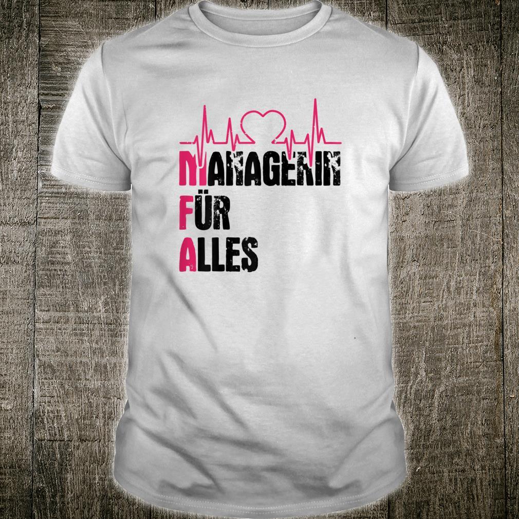 Damen MFA Arzthelferin lustiger Spruch Mediziner Geschenk Shirt