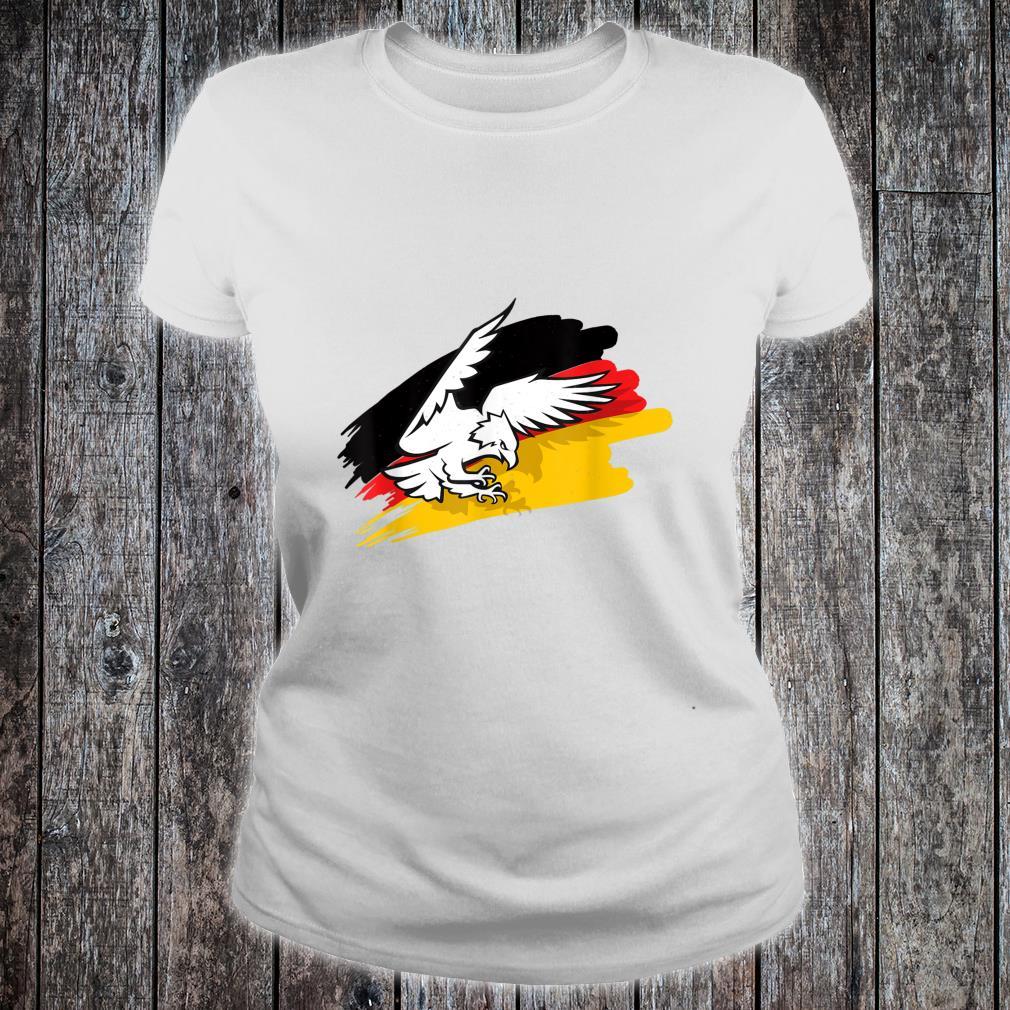 Eagle Bird German Germany Deutschland GER Country Shirt ladies tee