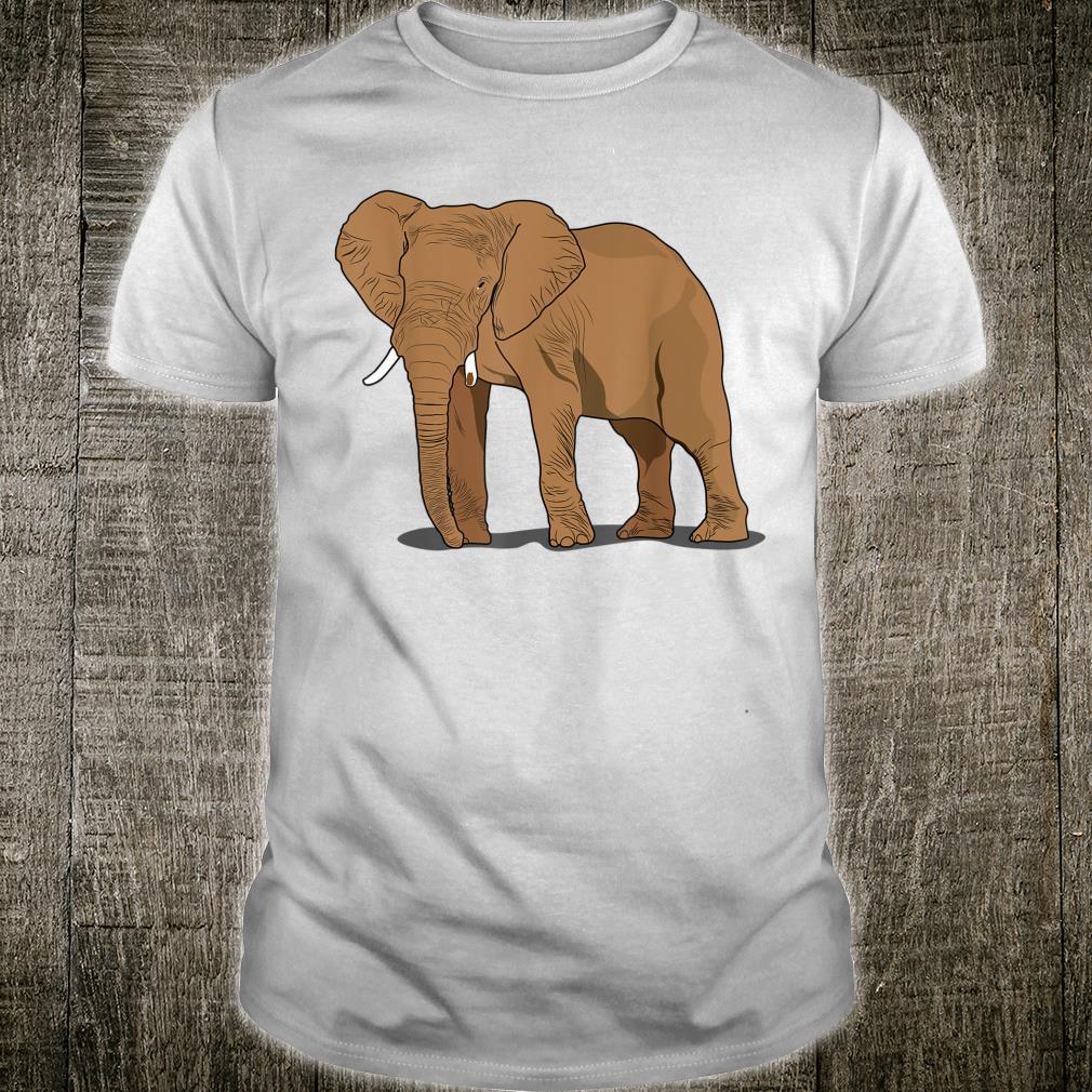 Elephant for Safari and Afrika India Fans Shirt