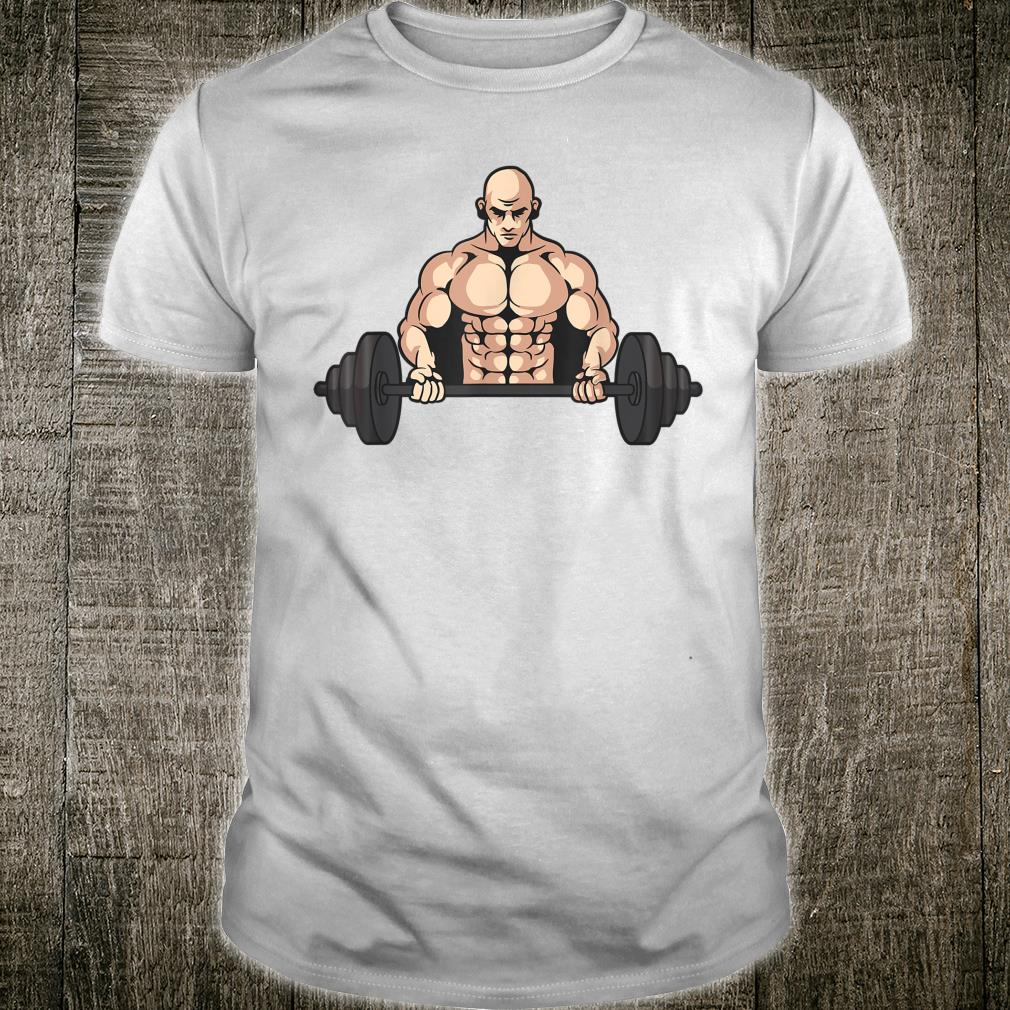 Fitness guy lifting very heavy weights Shirt