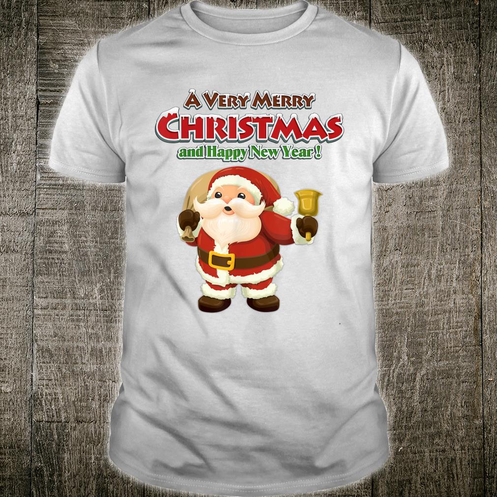 Frohe Weihnachten und ein gutes neues Jahr Cute Santa Decem Shirt