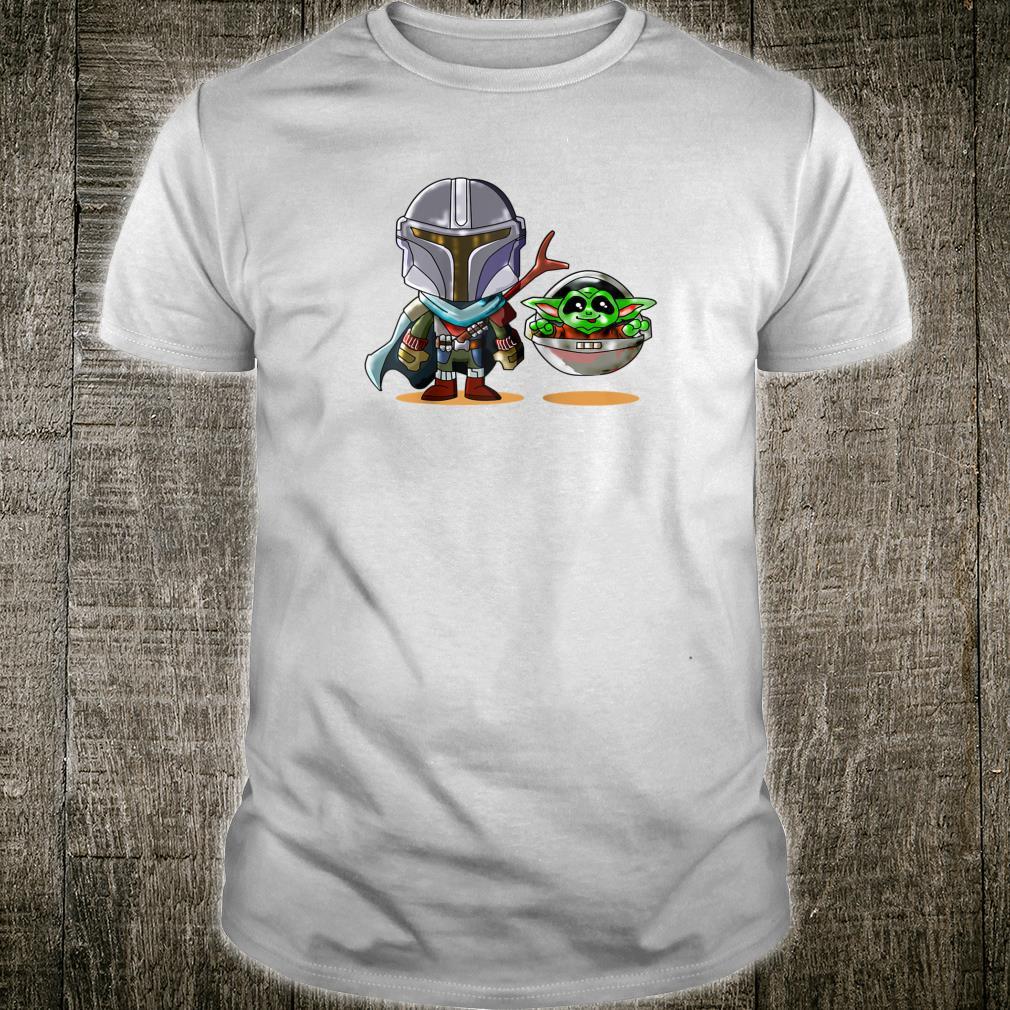 Fun cartoon mandalor sci fi movie star w cool Shirt