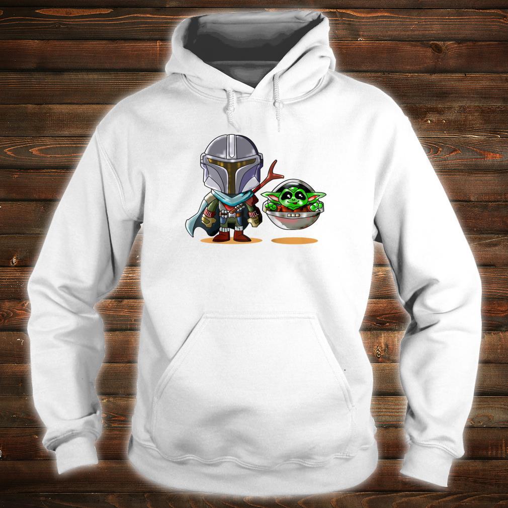 Fun cartoon mandalor sci fi movie star w cool Shirt hoodie