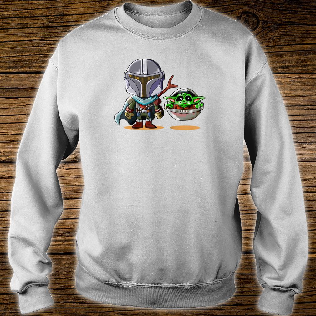 Fun cartoon mandalor sci fi movie star w cool Shirt sweater