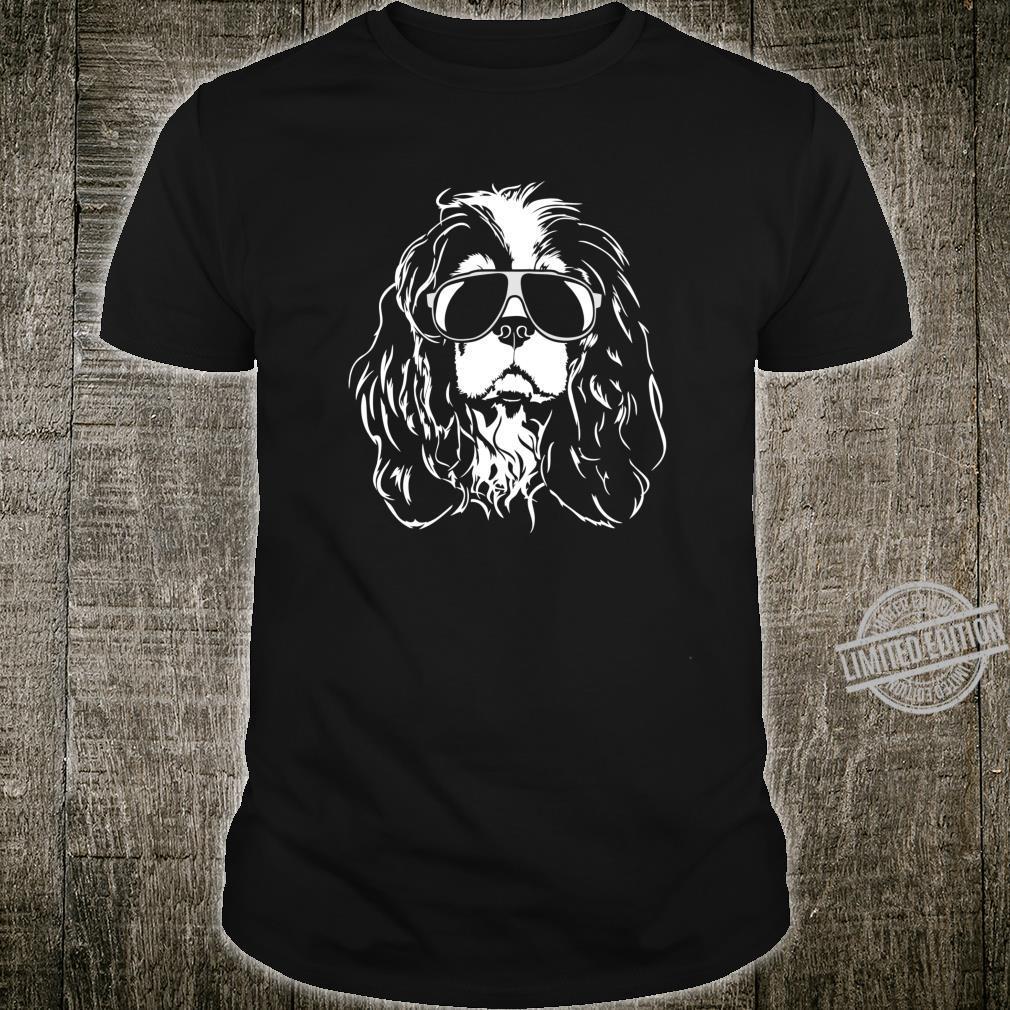 Funny Cavalier King Charles Spaniel sunglasses cool dog Shirt