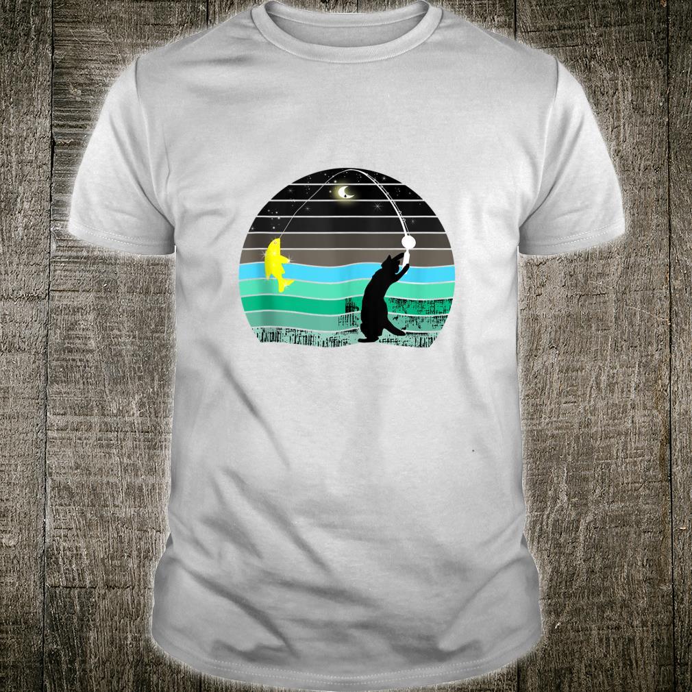 Funny Fish Fishing Love Fisherman Cute Vintage Shirt