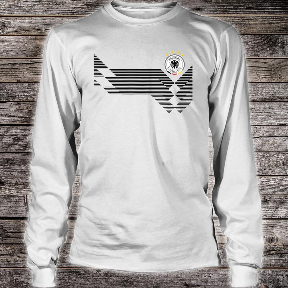 Germany Retro 2018 Football Jersey Deutschland Shirt long sleeved