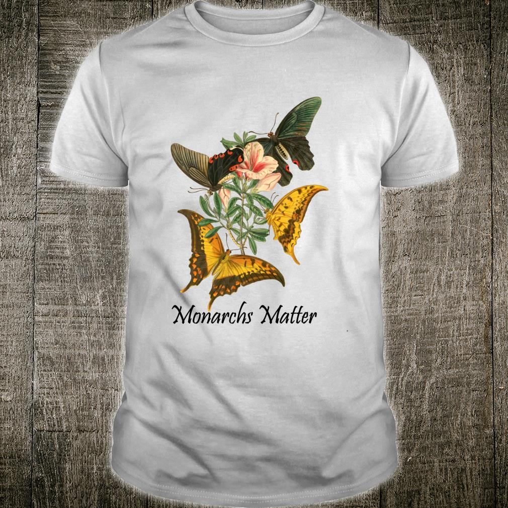 Graphic Monarchs Matter Love Butterfly Beautiful Collection Shirt