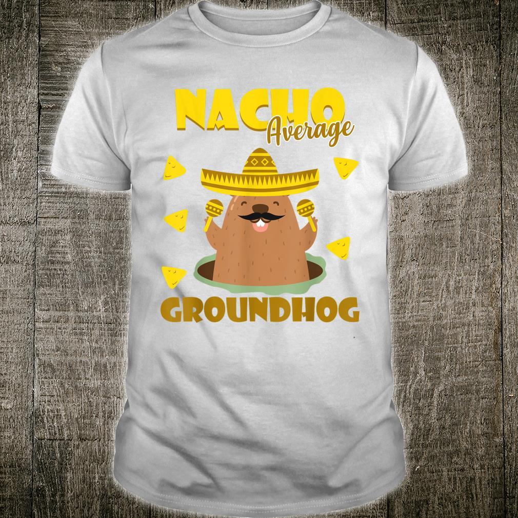 Groundhog Day Nacho 2020 Student Teacher Spanish Shirt