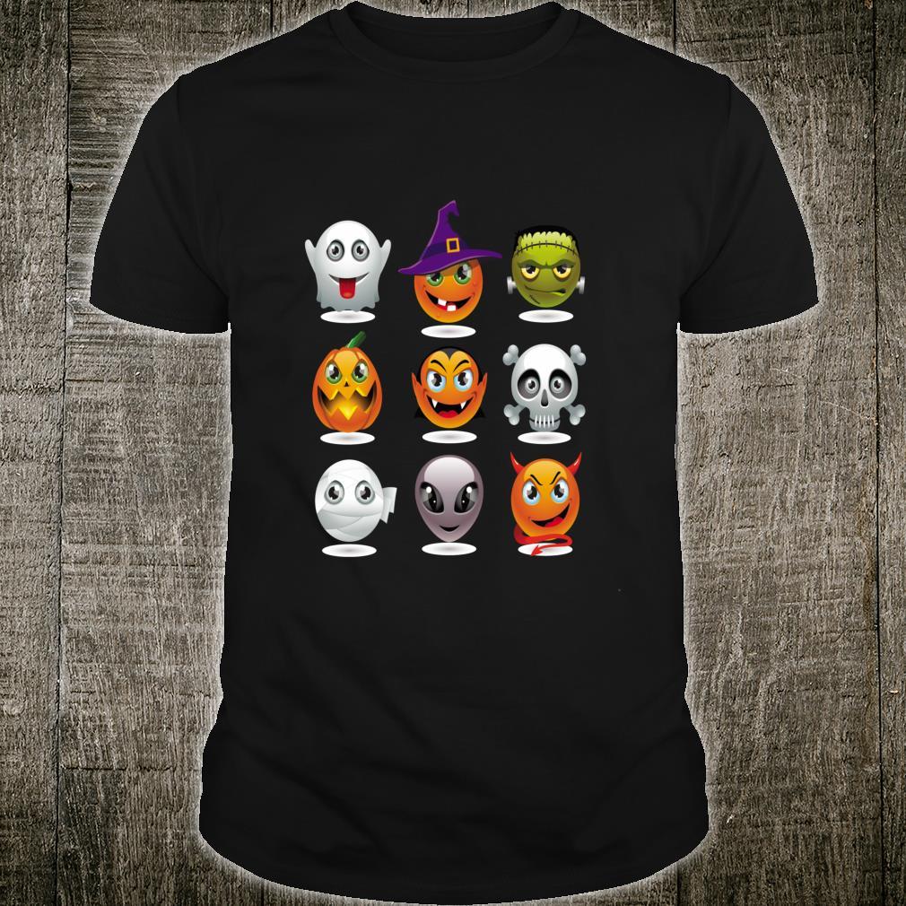 Halloween Emoji Costume Unisex Shirt