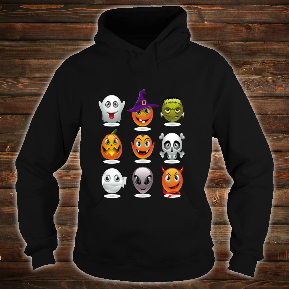Halloween Emoji Costume Unisex Shirt hoodie