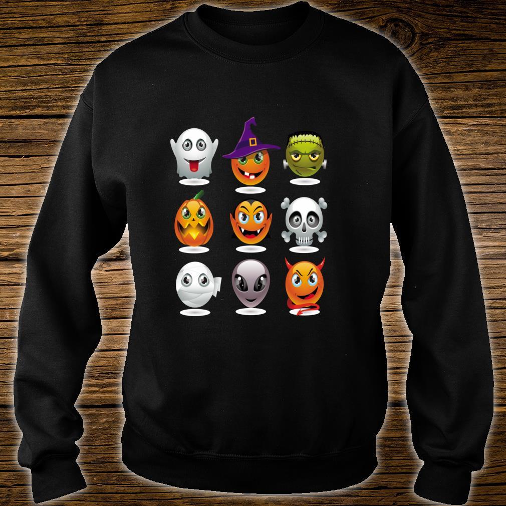 Halloween Emoji Costume Unisex Shirt sweater