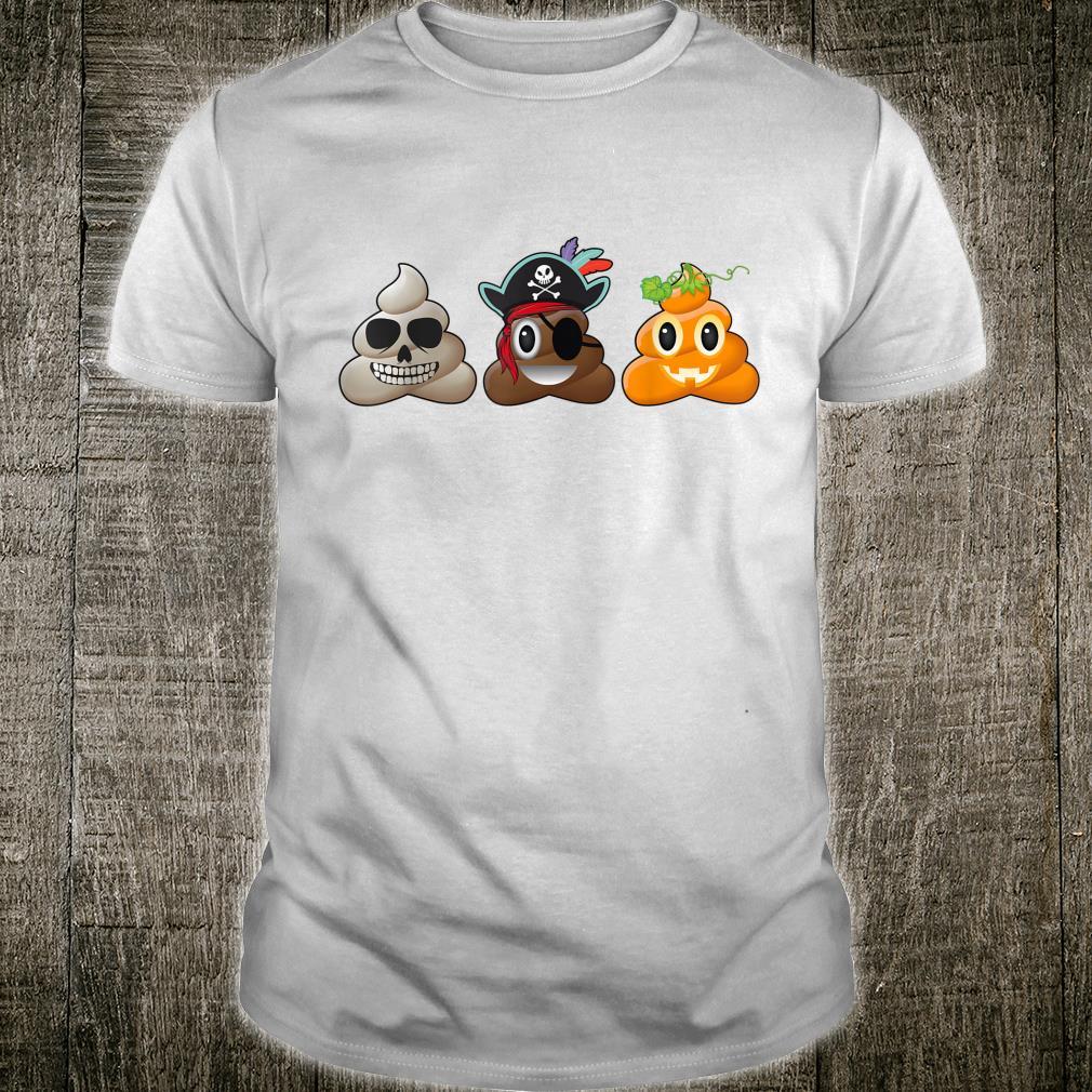 Halloween Poop Emoji Halloween Costume Shirt