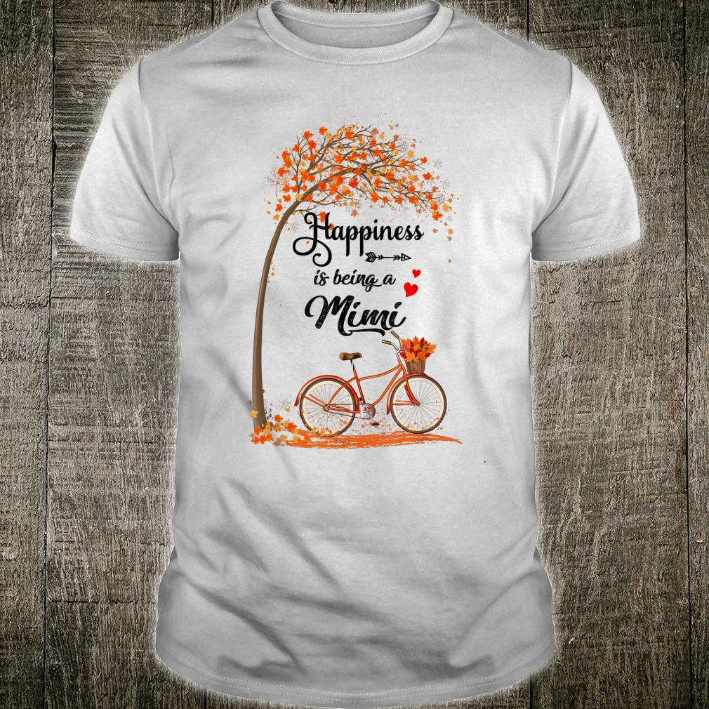 Happiness Is Being A Mimi Bicycle Shirt