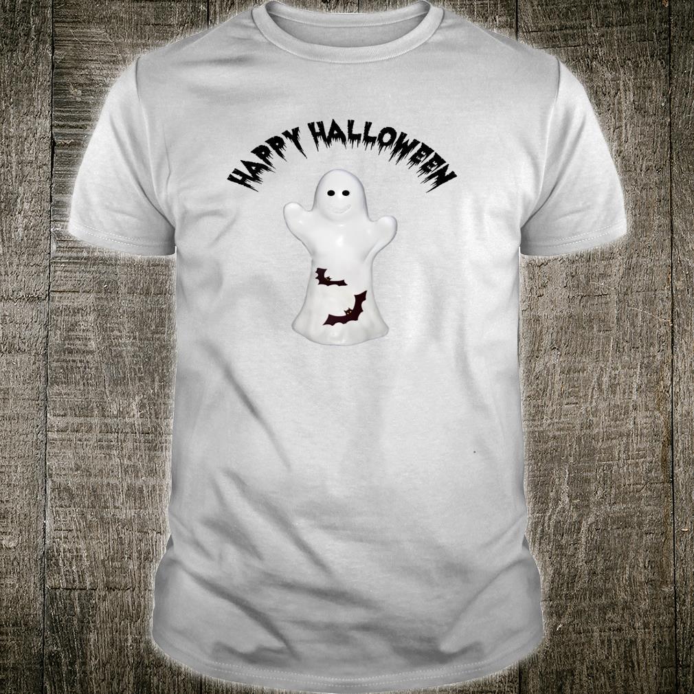 Happy Halloween Ghost & Bats Shirt