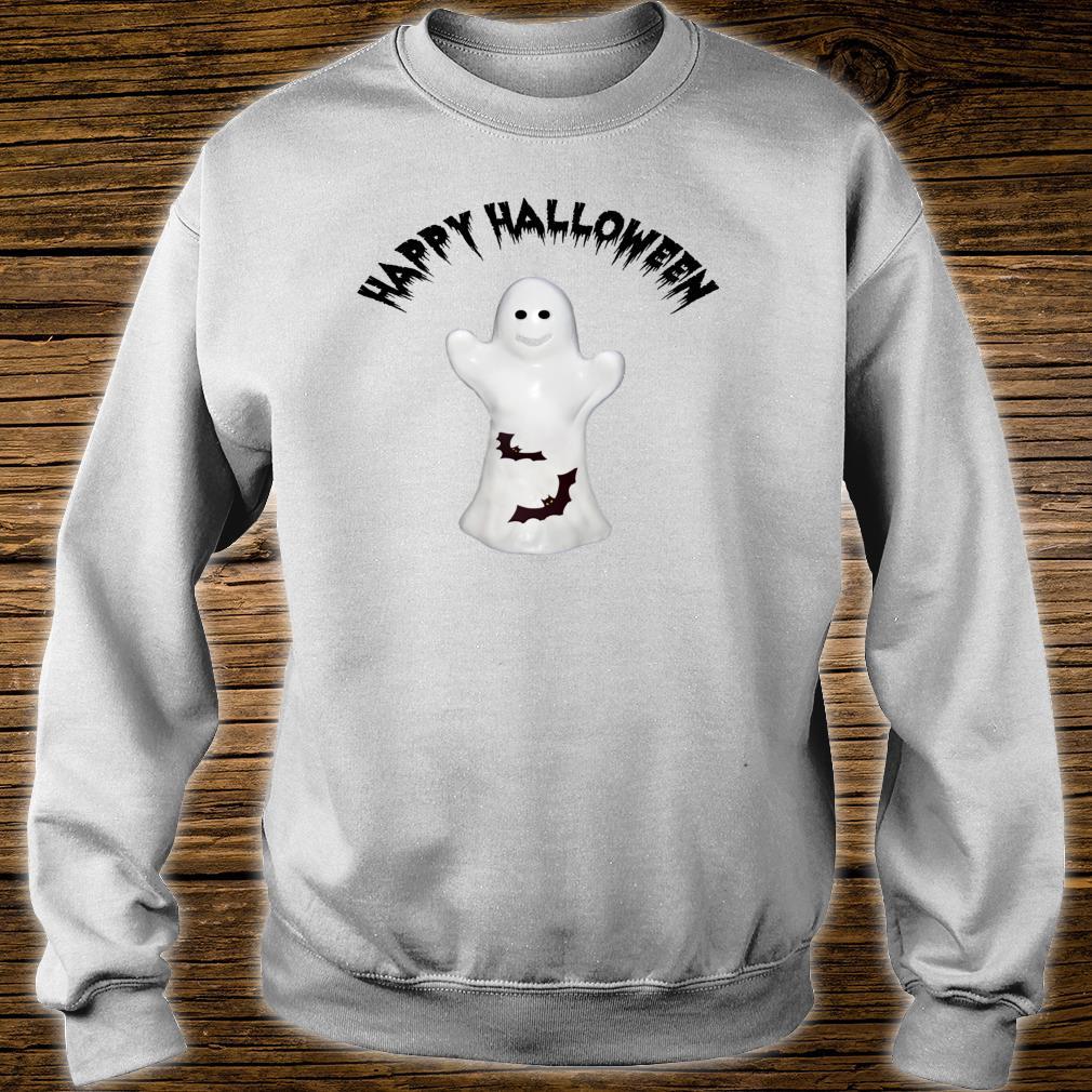Happy Halloween Ghost & Bats Shirt sweater