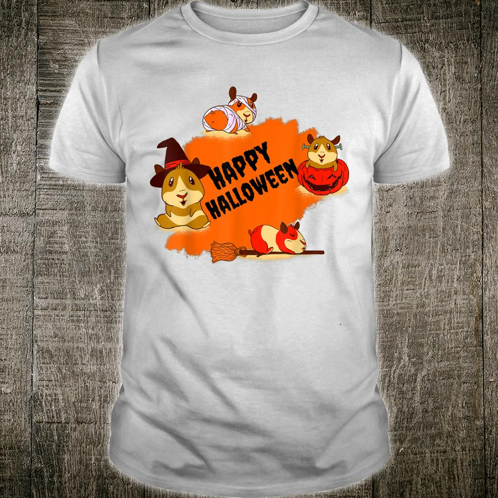 Happy Halloween Hamster Scary Zombie Halloween Shirt