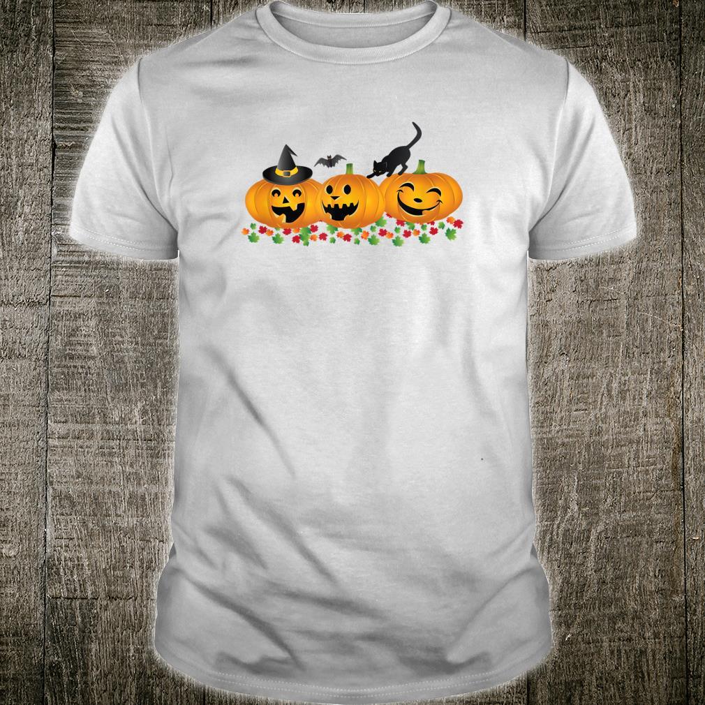 Happy Halloween und Thanksgiving Lustige Jackolantern Shirt