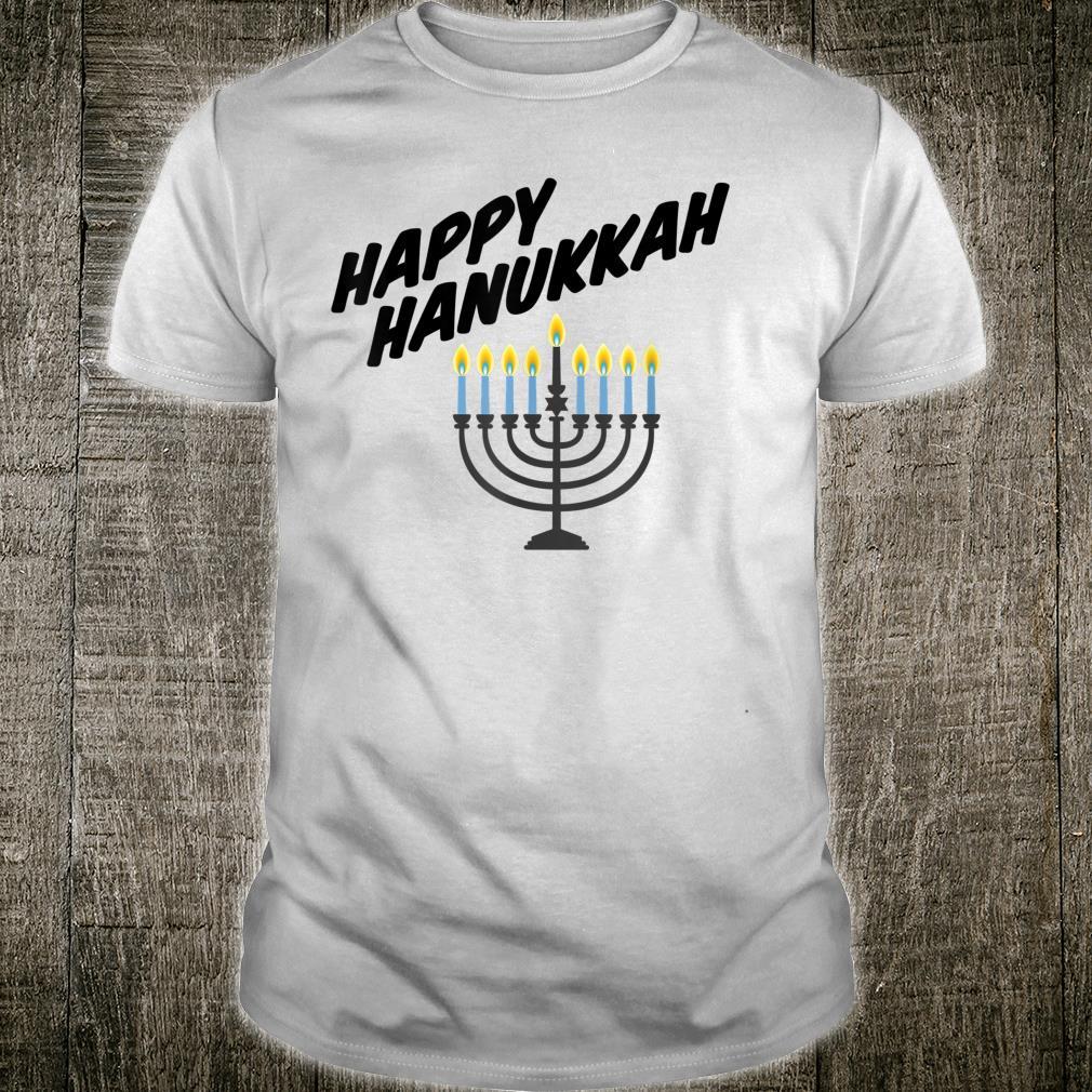 Happy Hanukkah Holidayorah with Star of David Shirt